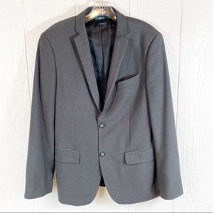 Mens Perry Ellis Dark Gray Sports Coat 38R